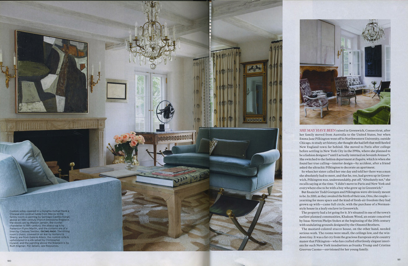 Featured in Elle Decor Eve Stone Antiques